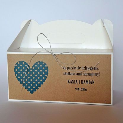 pudełko na ciasto eko