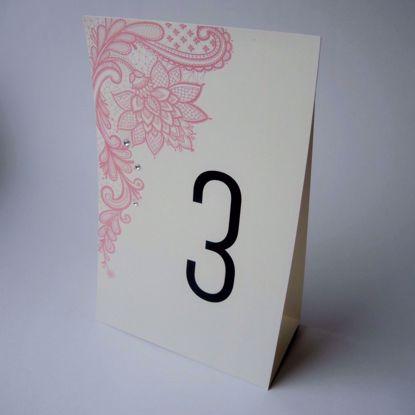 numery stołów